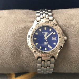 Fossil Women's Fossil Blue Watch - good condition